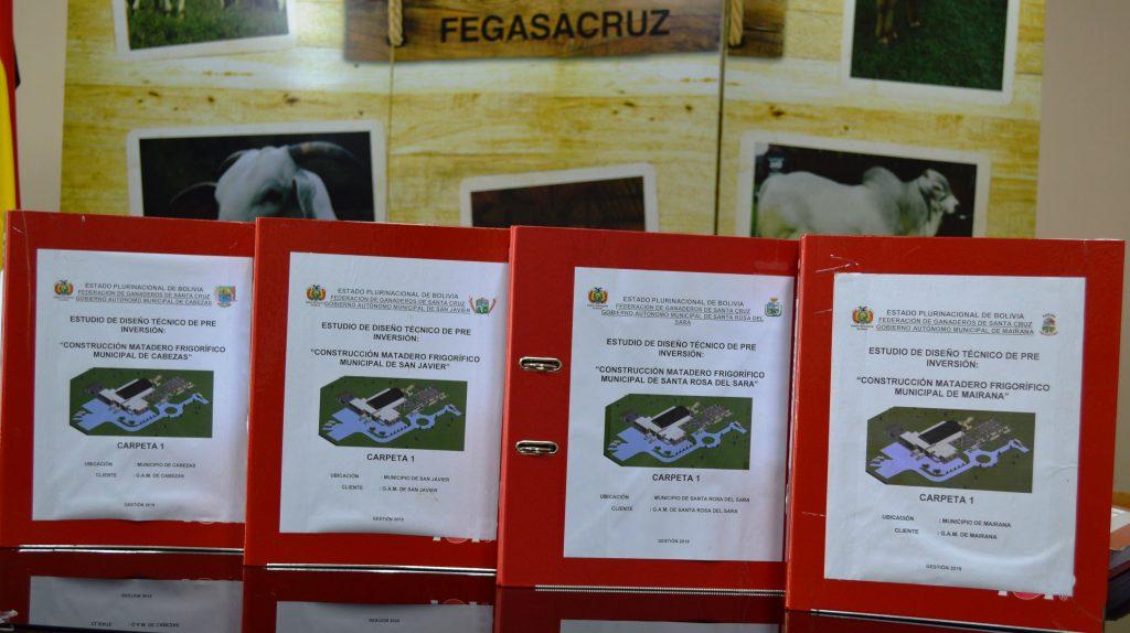 Entrega de Proyectos a Diseño Final, para Construcción de Mataderos Frigoríficos Municipales